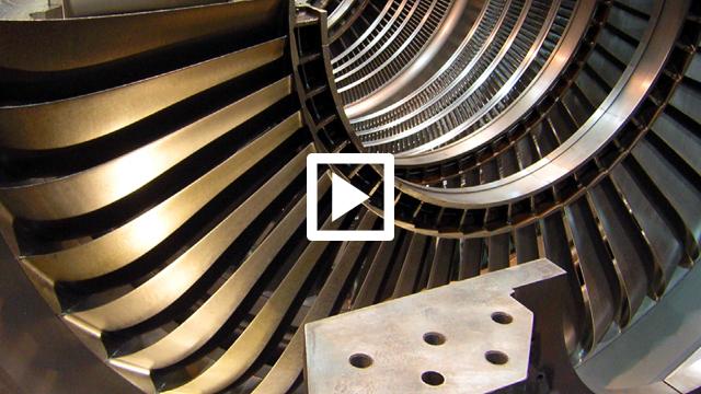 Modernisierung Turbine