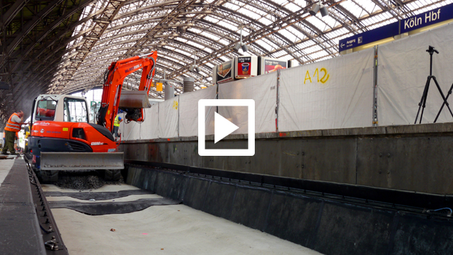 Zeitraffer Hauptbahnhof Köln