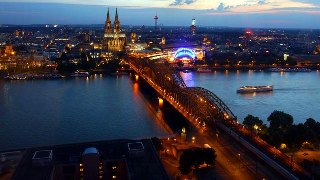 Zeitraffer Köln